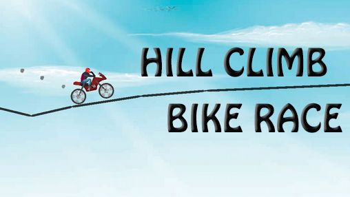 Hill climb bike race poster