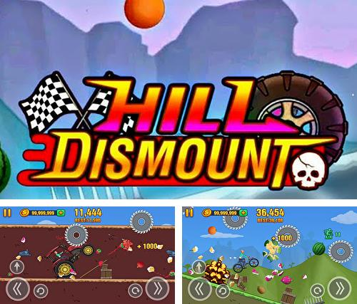 Hill dismount: Smash the fruits
