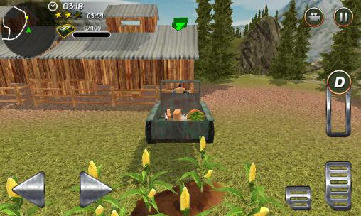 Screenshots do Hill farm truck tractor pro - Perigoso para tablet e celular Android.