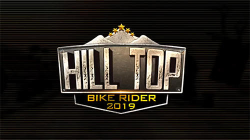 Hill top bike rider 2019 poster