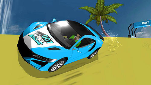 Screenshots von Hill top racing mania für Android-Tablet, Smartphone.