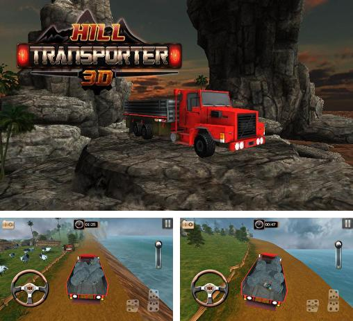 In addition to the game Truck Fuel Eco Driving for Android phones and tablets, you can also download Hill transporter 3D for free.