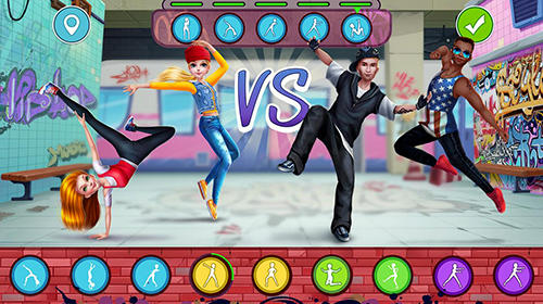 Screenshots von Hip hop battle: Girls vs. boys dance clash für Android-Tablet, Smartphone.