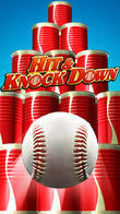 Hit and knock down