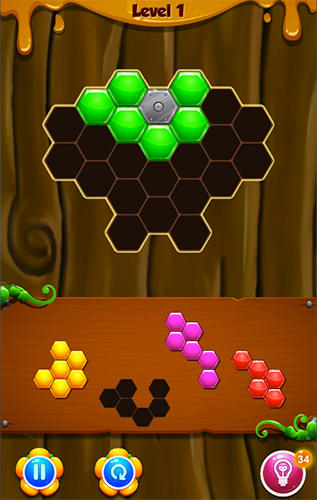 Hive puzzle screenshot 3
