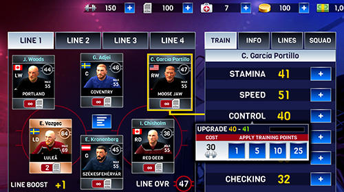 Hockey all stars screenshot 3