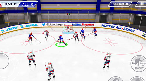 Screenshots do Hockey all stars - Perigoso para tablet e celular Android.