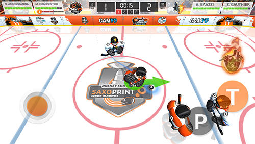 Juega a Hockey dangle '16: Saxoprint magnus edition para Android. Descarga gratuita del juego Fintas de hockey 16: Edición de Saxoprint magnus.