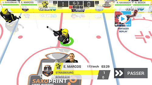 Capturas de pantalla de Hockey dangle '16: Saxoprint magnus edition para tabletas y teléfonos Android.