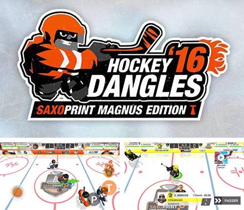 Zusätzlich zum Spiel Blocky Hockey: Eisläufer für Android-Telefone und Tablets können Sie auch kostenlos Hockey dangle '16: Saxoprint magnus edition, Hockey Dangles '16. Saxoprint Magnus Edition herunterladen.