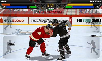 Screenshots von Hockey Fight Pro für Android-Tablet, Smartphone.