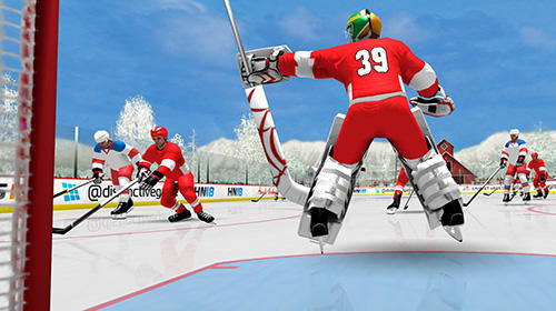 Kostenloses Android-Game Hockey Nationen 18. Vollversion der Android-apk-App Hirschjäger: Die Hockey nations 18 für Tablets und Telefone.