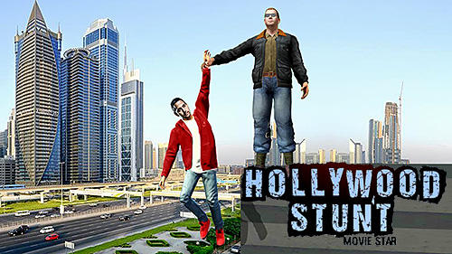 Hollywood stunts movie star poster