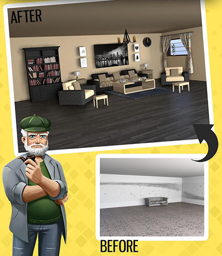 Screenshots von Home design dreams: Design your dream house games für Android-Tablet, Smartphone.