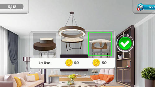 Screenshots von Home designer: Makeover blast für Android-Tablet, Smartphone.