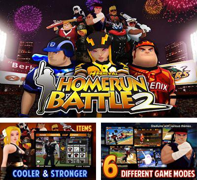 In addition to the game Homerun Battle 3d for Android phones and tablets, you can also download Homerun Battle 2 for free.