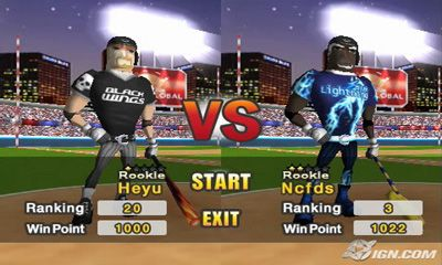 Homerun Battle 3d screenshot 2