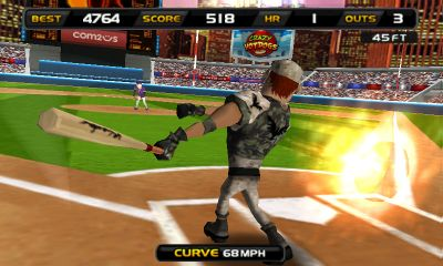 Screenshots of the Homerun Battle 3d for Android tablet, phone.