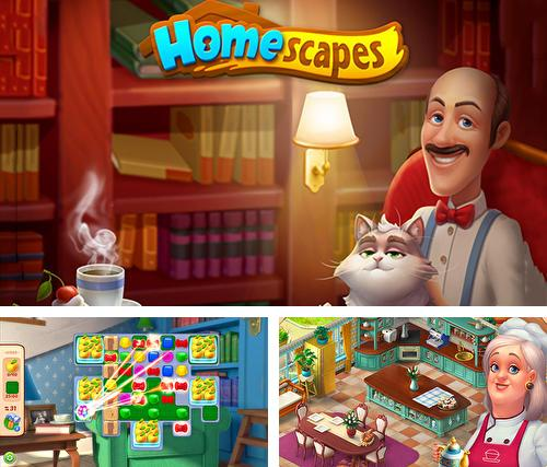 In addition to the game Starside: Celebrity resort for Android phones and tablets, you can also download Homescapes for free.