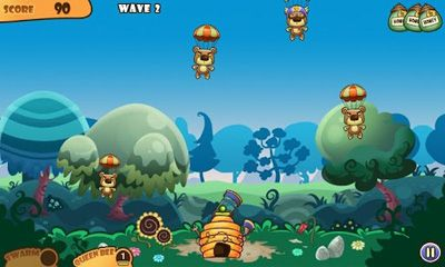 Screenshots do Honey Battle - Bears vs Bees - Perigoso para tablet e celular Android.