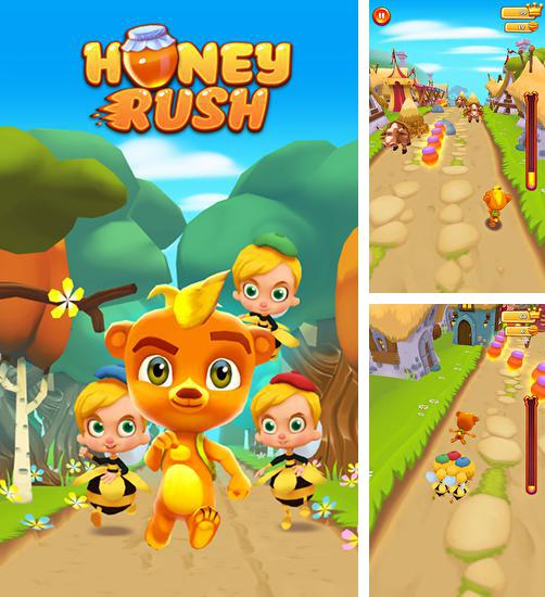Honey rush: Run Teddy run