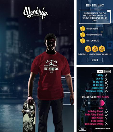 In addition to the game Fingerbord for Android phones and tablets, you can also download Hoodrip skateboarding for free.