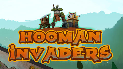 Hooman invaders: Tower defense poster