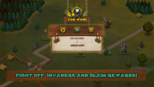 Hooman invaders: Tower defense screenshot 3
