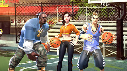 Kostenloses Android-Game Korblegenden: Slam Dunk. Vollversion der Android-apk-App Hirschjäger: Die Hoop legends: Slam dunk für Tablets und Telefone.