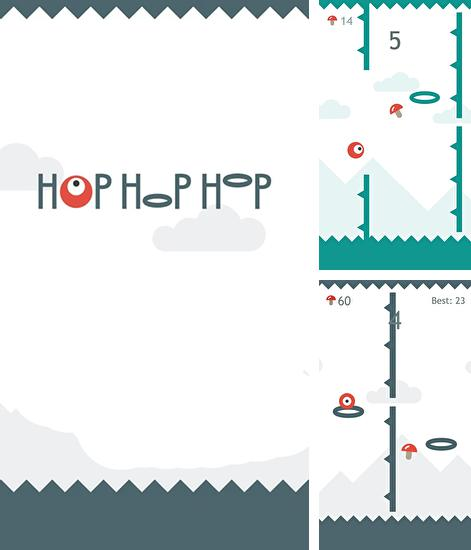 In addition to the game GraviTire 3D for Android phones and tablets, you can also download Hop hop hop for free.