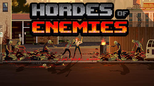 Hordes of enemies poster