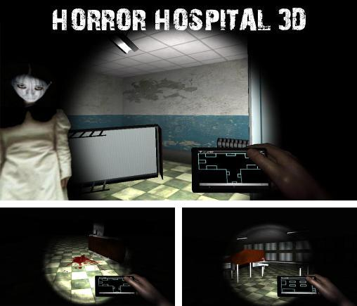 In addition to the game Paranormal asylum for Android phones and tablets, you can also download Horror hospital 3D for free.