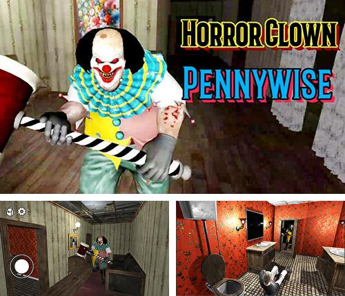 Horror сlown Pennywise: Scary escape game