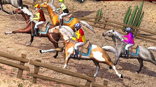 Jogo de cavalo de corrida