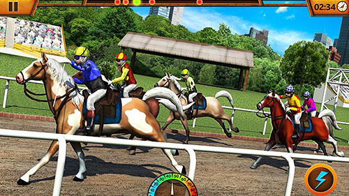 Screenshots von Horse drag race 2017 für Android-Tablet, Smartphone.