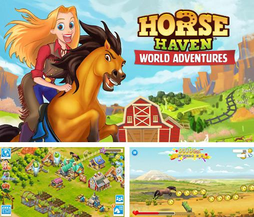 In addition to the game Horse world 3D: My riding horse for Android phones and tablets, you can also download Horse haven: World adventures for free.