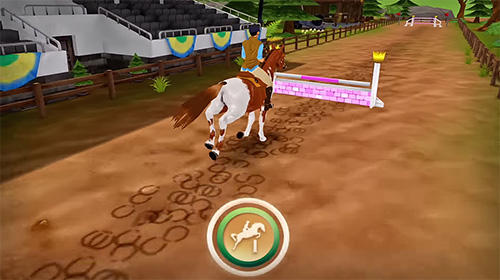 Screenshots von Horse hotel: Care for horses für Android-Tablet, Smartphone.
