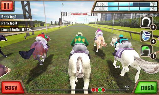 Horse racing 3D screenshot 1
