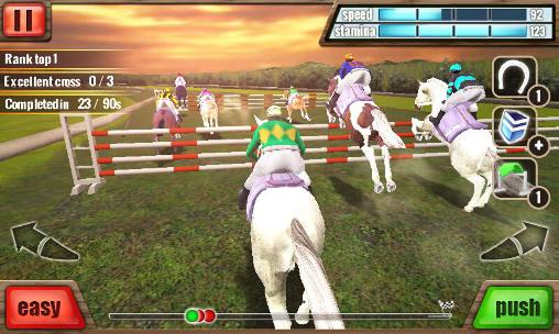 Jogue Horse racing 3D para Android. Jogo Horse racing 3D para download gratuito.
