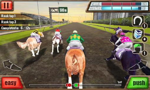 Screenshots do Horse racing 3D - Perigoso para tablet e celular Android.