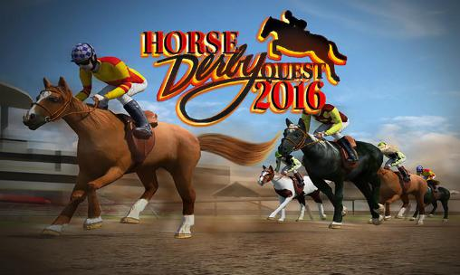 Horse racing derby quest 2016 poster
