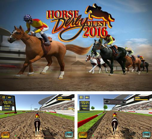 In addition to the game Photo finish: Horse racing for Android phones and tablets, you can also download Horse racing derby quest 2016 for free.