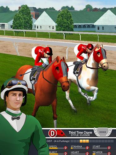 Jogo de corrida de cavalo