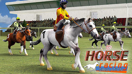 Horse racing simulation 3D обложка
