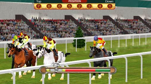 Horse racing simulation 3D screenshot 4