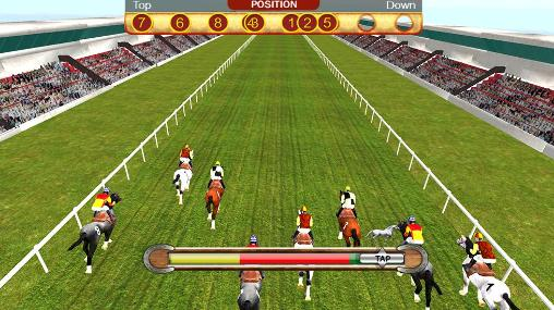 Horse racing simulation 3D скриншот 5