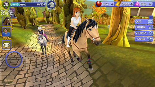Screenshots von Horse riding tales: Ride with friends für Android-Tablet, Smartphone.