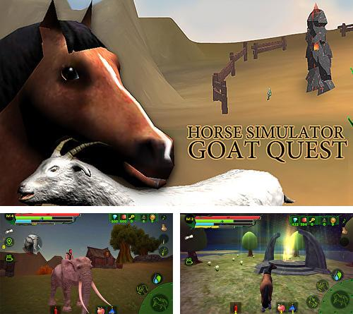 Horse simulator: Goat quest 3D. Animals simulator