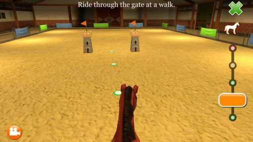Screenshots von Horse world 3D: My riding horse für Android-Tablet, Smartphone.