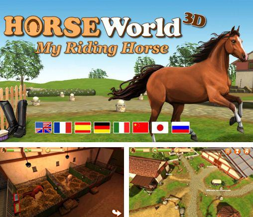 In addition to the game Horse world: Show jumping for Android phones and tablets, you can also download Horse world 3D: My riding horse for free.